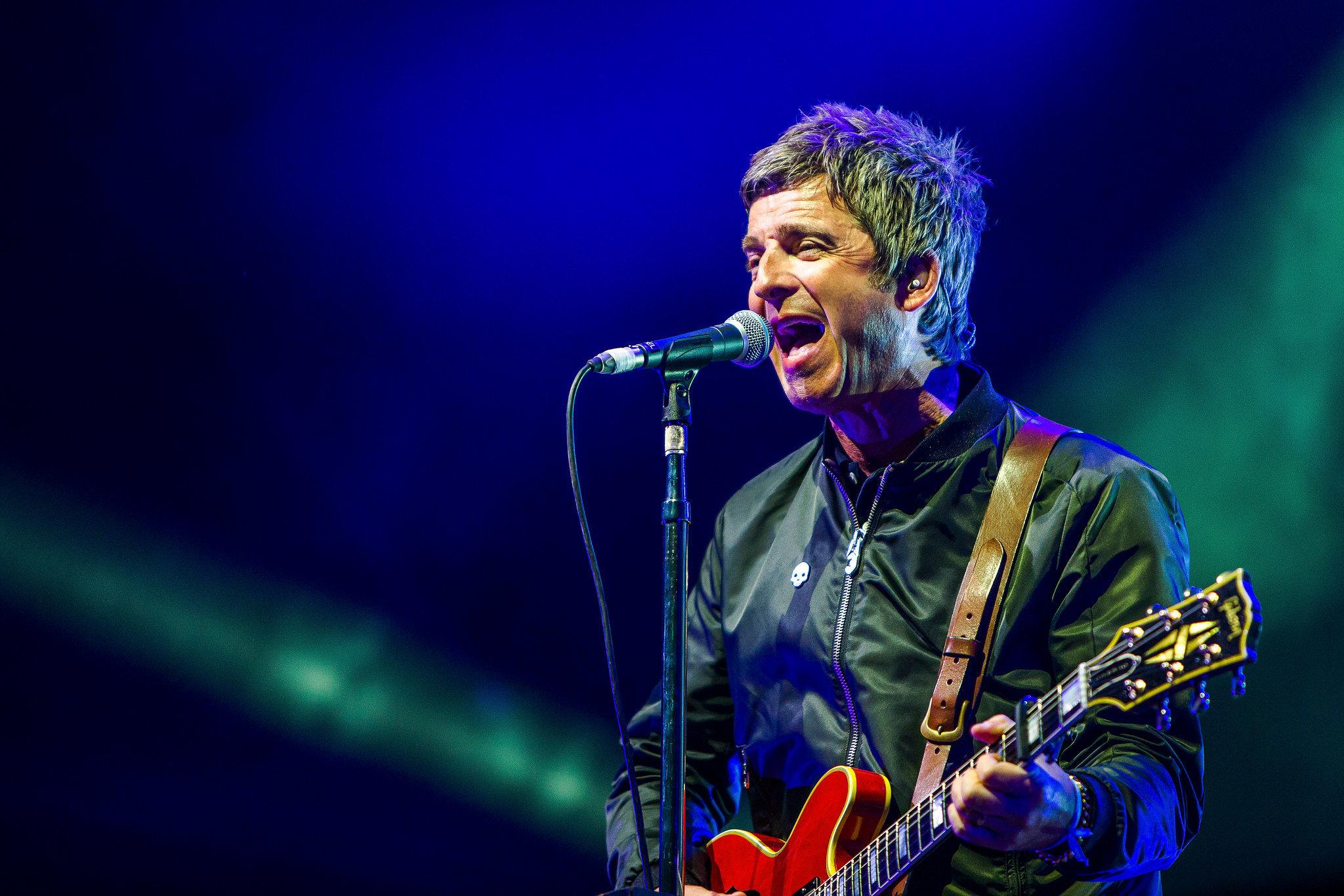 Noel Gallagher at Kendal Calling. Credit: Scott Salt