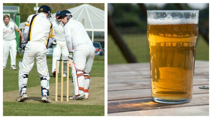 Penwortham cricket club in action, and howzat for an afternoon's entertainment Pic: Chris Gatskill