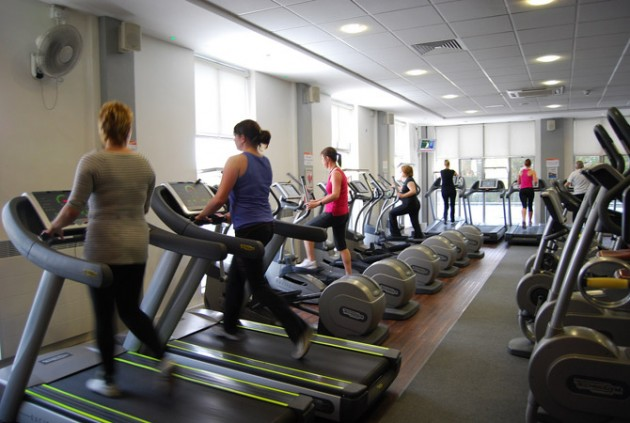 Gym at Fulwood Leisure Centre - last refitted in 2014