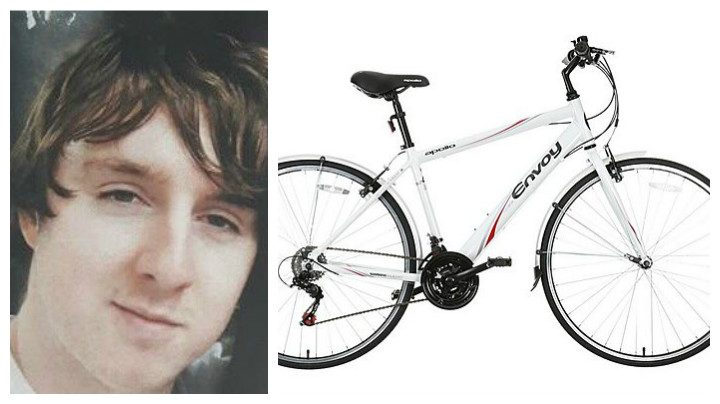 Martyn Cunliffe has not been seen since Monday, and a bike like the one he was last seen riding