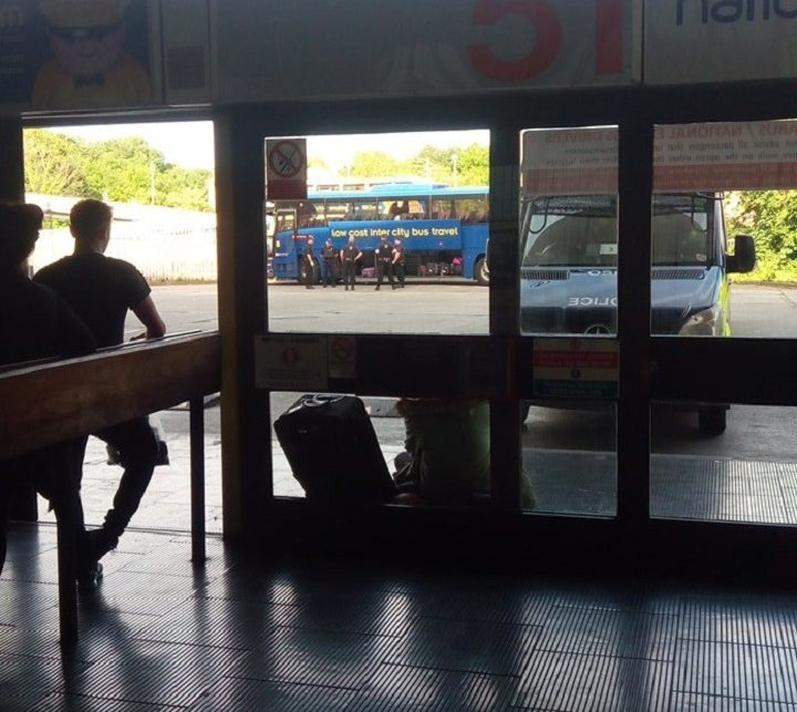 The scene at Preston Bus Station on Tuesday afternoon Pic: Paul van de Rooy