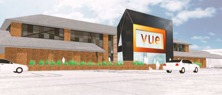 How the new look Vue cinema may look