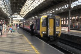 A Northern train service at Preston Station Pic: darrener24d