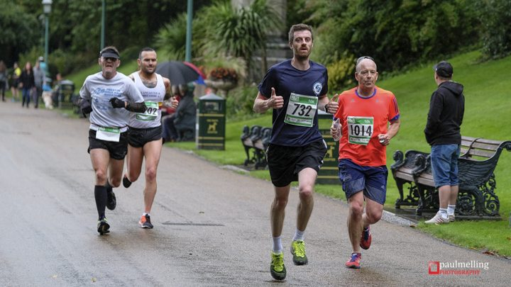 Charging through Miller Park on the Preston 10k Pic: Paul Melling