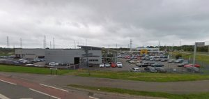 The Audi dealership in Chain Caul Way Pic: Google