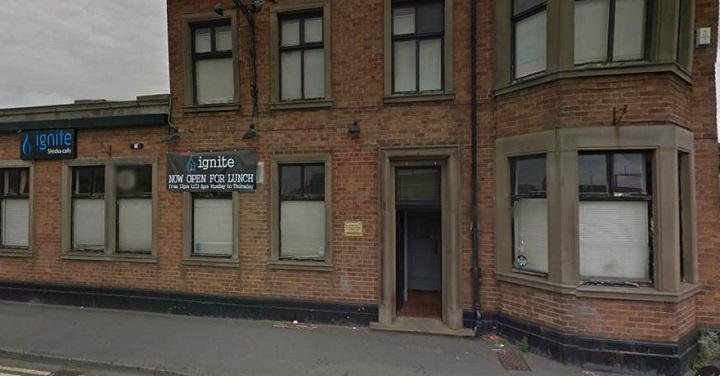 The Ignite Shisha cafe in Watery Lane Pic: Google