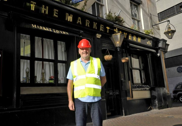 Graham Rowson the new landlord of the Market Tavern