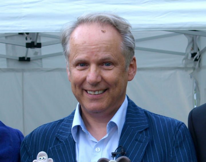 Nick Park visiting Preston during the 2012 Guild Pic: Tony Worrall