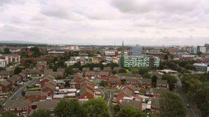 Looking towards the city centre from St Walburge's Pic: Benny Mc'Nally