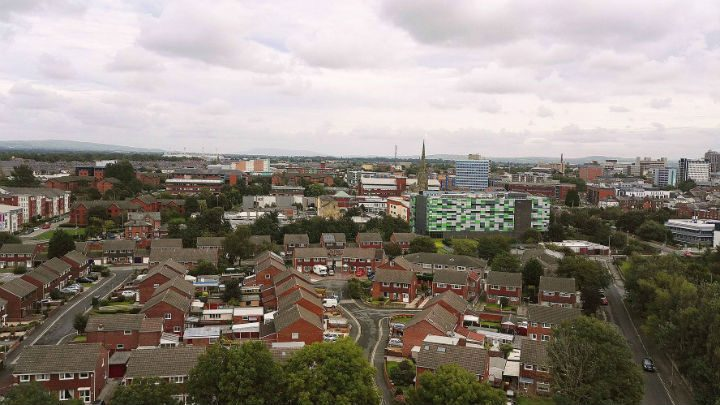 Looking towards the city centre from St Walburge's Pic: Benny Mc'Nally