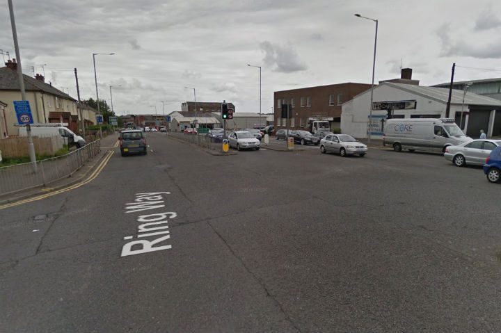 Emergency services are where the Marsh Lane and Ringway junction meet