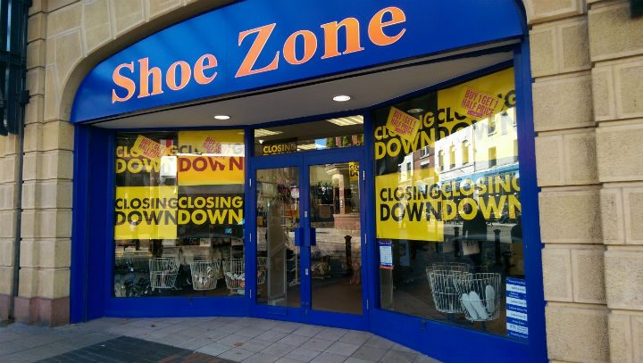 Shoe Zone in Preston city centre is to close