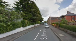 St Vincents Road in Fulwood Pic: Google