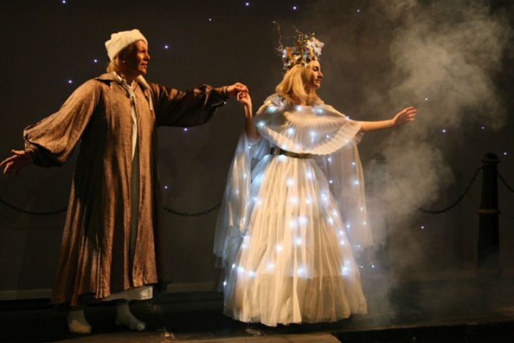 A Christmas Carol being performed