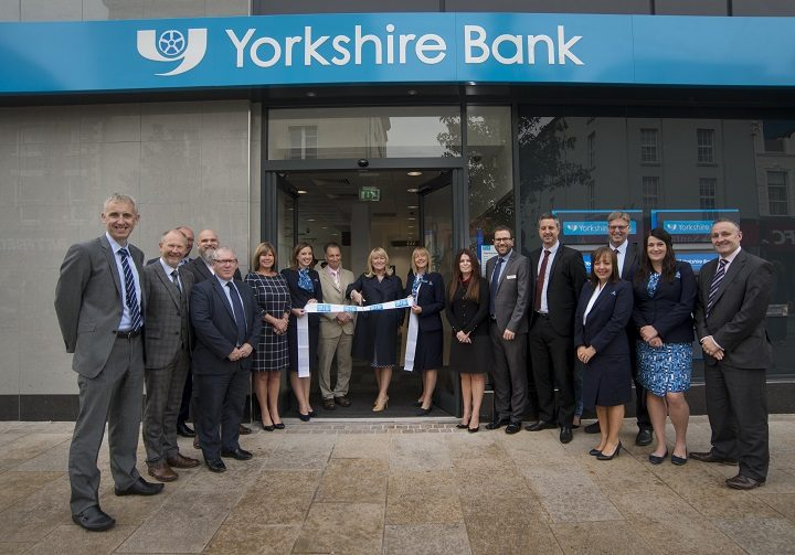The Yorkshire Bank team