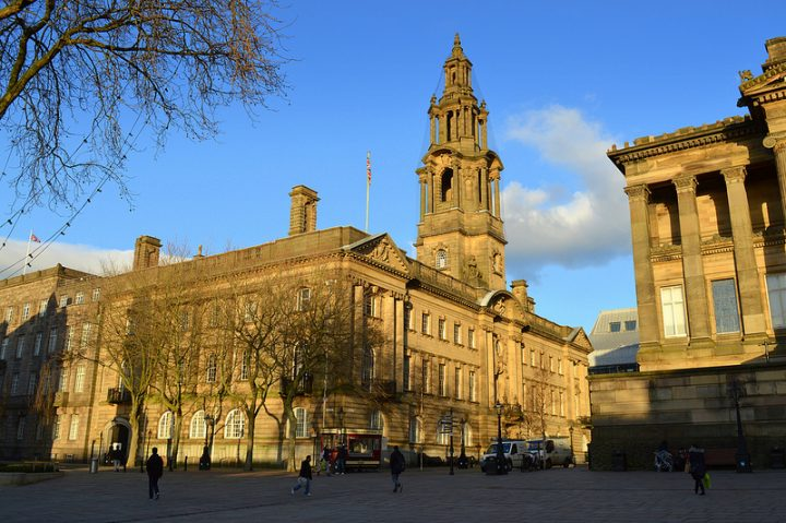 Inside Preston Town Hall there is much head scratching over the way forward financially Pic: Tony Worrall