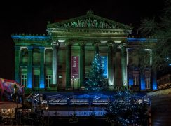 A 10-metre high Christmas Tree is to be part of the festive celebrations in Preston this year Pic: Keith Sergeant