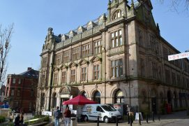 A view of the Old Post Office in Preston Pic: Tony Worrall