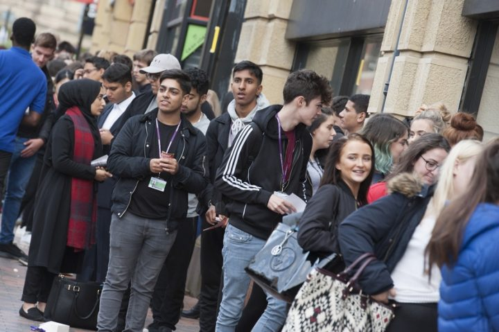 students-queue-for-the-annual-student-lock-in