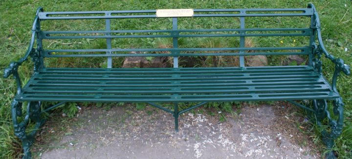 How one of the benches will look