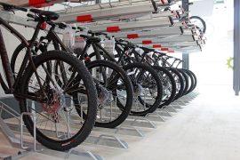 Inside the new bike hub
