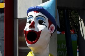 Sightings of people dressed as clowns and incidents involving them have been reported across the UK Pic: Hot Gossip