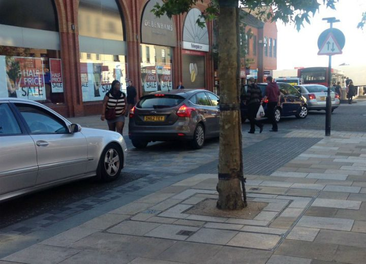 Traffic in Fishergate. Not an unusual sight. Pic: Jessica Simpson