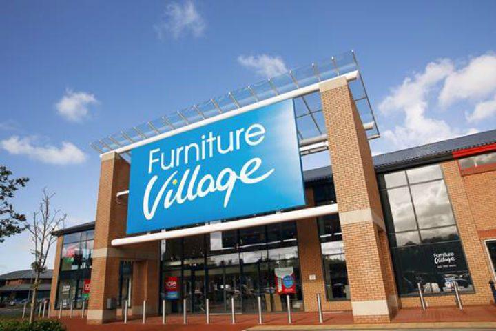furniture village opens at capitol centre blog preston. Black Bedroom Furniture Sets. Home Design Ideas