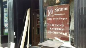 Work continues to get Mr Simms ready for opening Pic: Tony Worrall