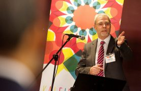 Professor Mike Thomas has signalled a shift in the strategy by the university