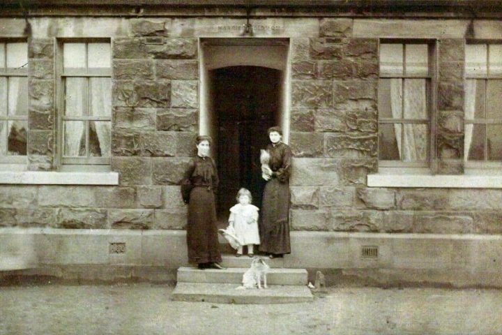 One of the married quarters in Fulwood barracks. Pic: Preston Digital Archive