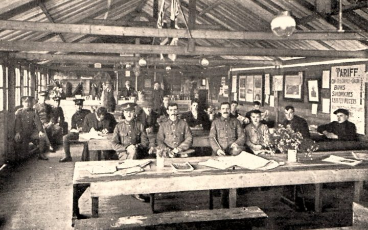 The soldiers welfare committee cafe Fulwood barracks c.1916. Pic: Preston Digital Archive