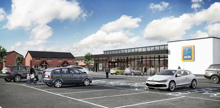 Aldi wants to build a supermarket near Longridge