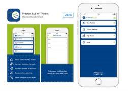 How the Preston Bus app looks on your phone