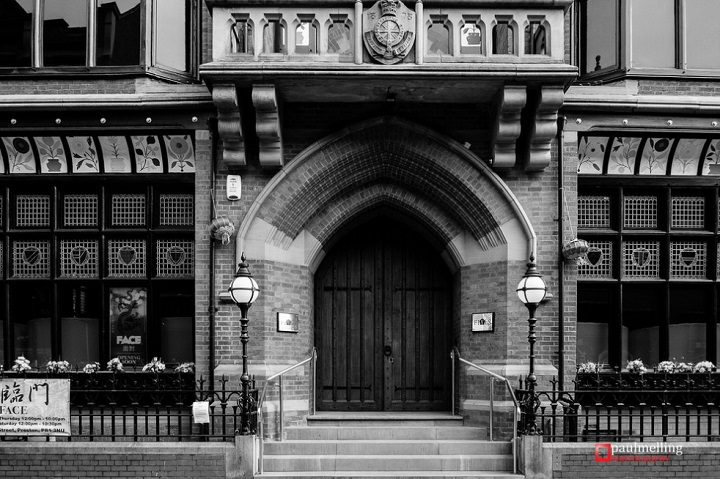 Entrance to what used to be Fives Pic: Paul Melling