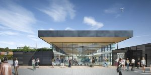 Proposals show how the extension to Foster Building would look