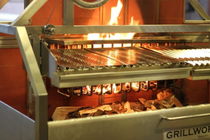 The new grill which is being put into the pub