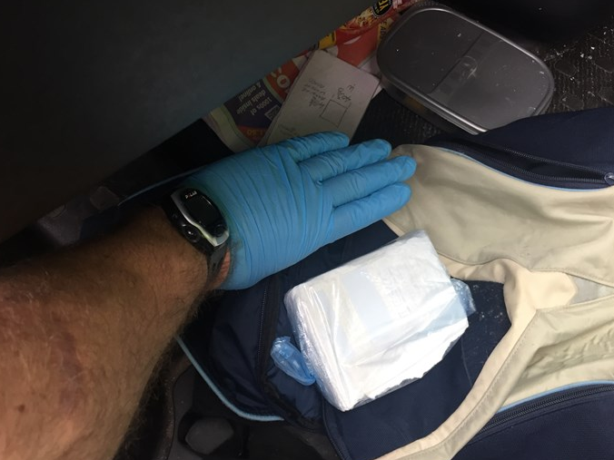 Drugs found stashed in Langford's car