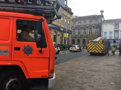 Emergency services in Lune Street Pic: Billy Matthews