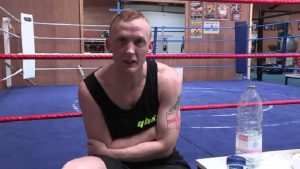 Mick Hall is staying on the straight and narrow - and seeing boxing success