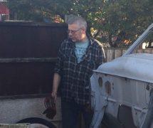 Darren Seed in his workshop
