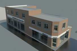 How the new dental surgery and shops may look