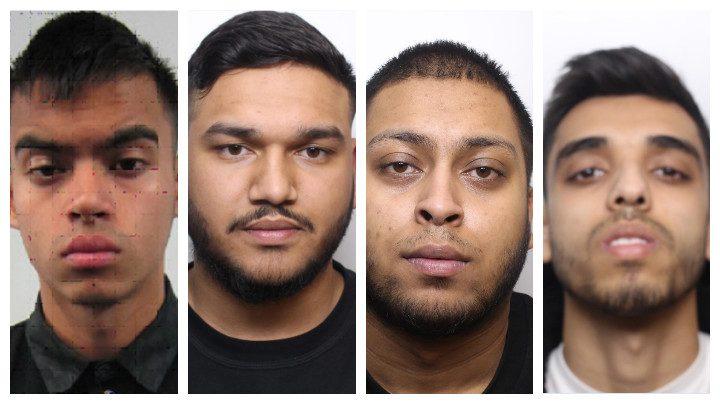 Ruel Miah, Rahem Ali, Shah Ahmed and Malik Amer are now all behind bars