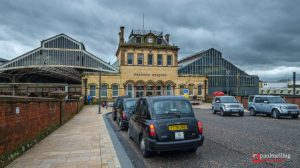 Preston Railway Station has seen major delays during Sunday evening Pic: Paul Melling