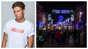 ITV2 crews are going to be following Joey as he helps turn on the Christmas lights