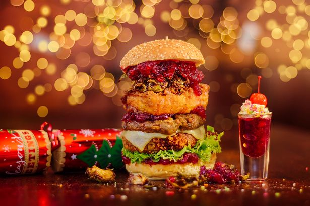 Solita unveil mammoth new Christmas burger | Blog Preston