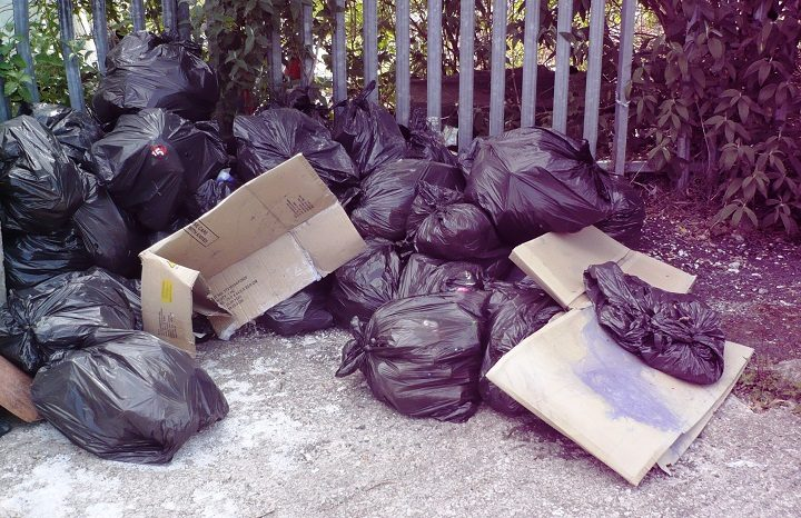 The bags of waste were discovered in Fulwood and linked back to the tattoo studio