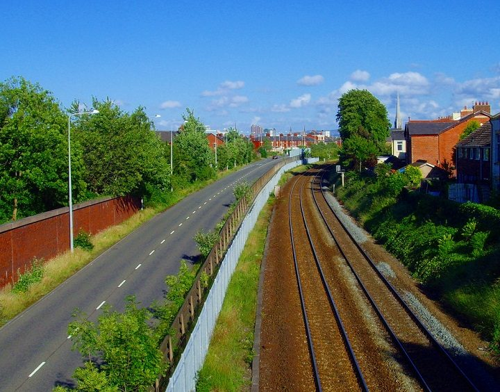 Tom Benson Way area is to see improved cycle routes Pic: Tony Worrall