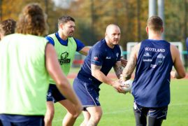 More training action for Scotland's rugby league side