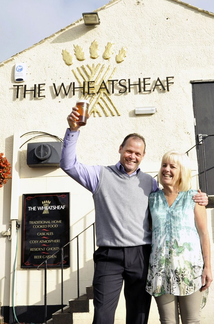 Pete and Ness definitely deserve a pint!